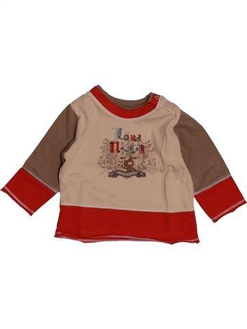 T-shirt manches longues garçon SUCRE D'ORGE marron 6 mois hiver #1557934_1