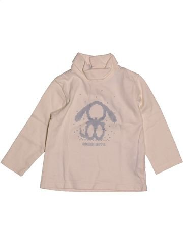 T-shirt col roulé garçon OKAIDI rose 18 mois hiver #1557963_1