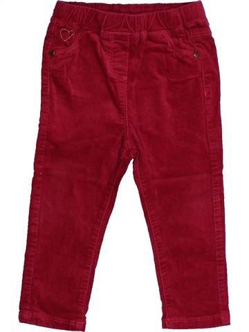 Pantalon fille TAPE À L'OEIL violet 2 ans hiver #1558203_1