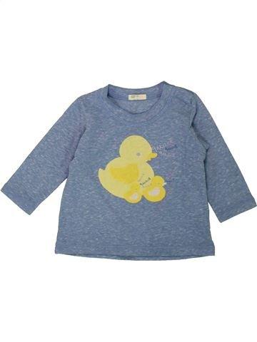 Camiseta de manga larga niño BENETTON azul 6 meses invierno #1558324_1