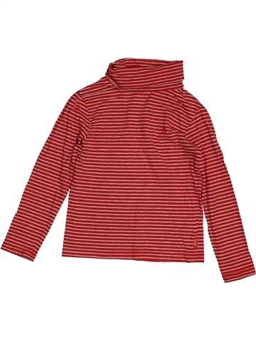 T-shirt col roulé garçon OKAIDI rouge 5 ans hiver #1558879_1