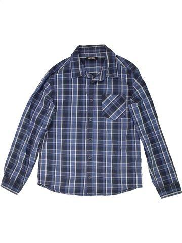 Chemise manches longues garçon PEP&CO bleu 11 ans hiver #1559021_1