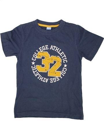 T-shirt manches courtes garçon KIDS bleu 8 ans été #1559022_1