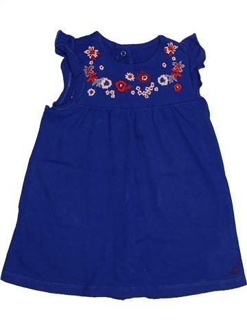 Robe fille PETIT BATEAU bleu 12 mois été #1560148_1