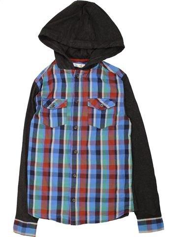 Chemise manches longues garçon M&CO gris 13 ans hiver #1560637_1