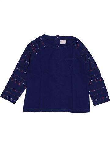 T-shirt manches longues garçon TAPE À L'OEIL bleu 2 ans hiver #1560750_1