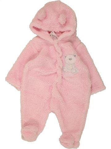 Robe de chambre fille BEBE BONITO rose 3 mois hiver #1560848_1