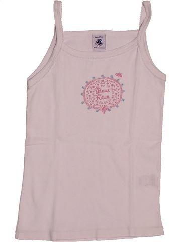 T-shirt sans manches fille PETIT BATEAU gris 8 ans été #1560889_1
