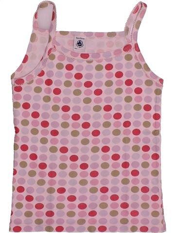 T-shirt sans manches fille PETIT BATEAU rose 8 ans été #1560894_1
