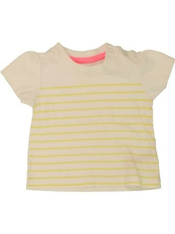 Camiseta de manga corta niña EARLY DAYS beige 6 meses verano #1561021_1