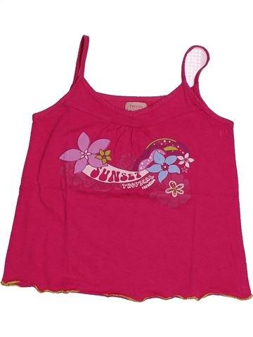 T-shirt sans manches fille TEX rose 5 ans été #1561082_1