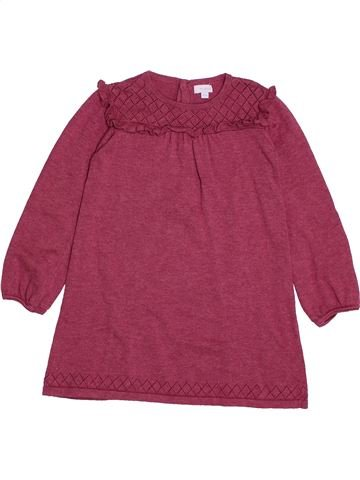Robe fille TEX violet 3 ans hiver #1561115_1