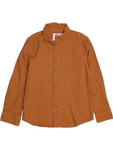 Camisa de manga larga niño BOYS marrón 9 años invierno #1562496_1