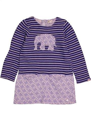 Robe fille HATLEY violet 5 ans hiver #1562957_1