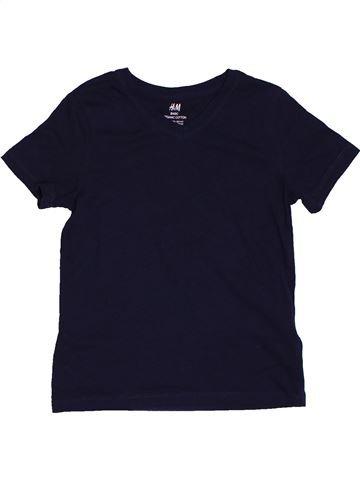 T-shirt manches courtes garçon H&M noir 6 ans été #1563096_1