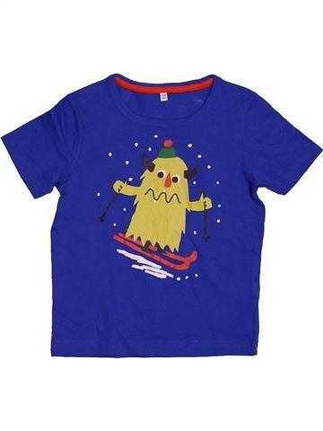 T-shirt manches courtes garçon MARKS & SPENCER violet 3 ans été #1563103_1