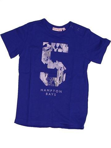 Camiseta de manga corta niña JBC azul 4 años verano #1563474_1