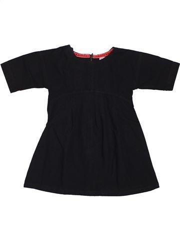 Robe fille DPAM noir 3 ans été #1563504_1