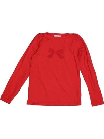 T-shirt manches longues fille JACADI rouge 8 ans hiver #1563590_1
