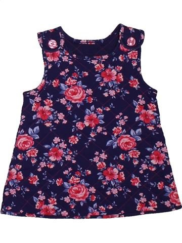 Robe fille GEORGE rose 6 mois hiver #1564022_1