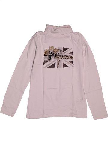 Camiseta de cuello alto niña IN EXTENSO rosa 10 años invierno #1565044_1