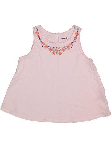 7384acd9b410b T-shirt sans manches fille LA REDOUTE CRÉATION violet 8 ans été  1682920 1