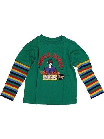 09856b410edf0 T-shirt manches longues garçon LA COMPAGNIE DES PETITS vert 4 ans hiver   1686311 1