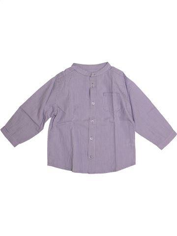 db2d6e1595b57 Blouse manches longues fille BOUT CHOU violet 2 ans hiver  1686584 1