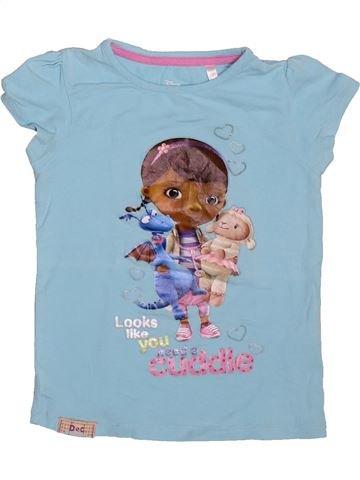 cd4afc4fb8d8e T-shirt manches courtes fille DISNEY bleu 6 ans été  1695362 1