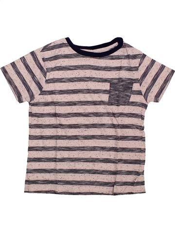 77dce7567f4c8 T-shirt manches courtes garçon OKAIDI rose 6 ans été #1743621_1