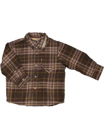 Camisa de manga larga niño TIMBERLAND marrón 2 años invierno #703460_1