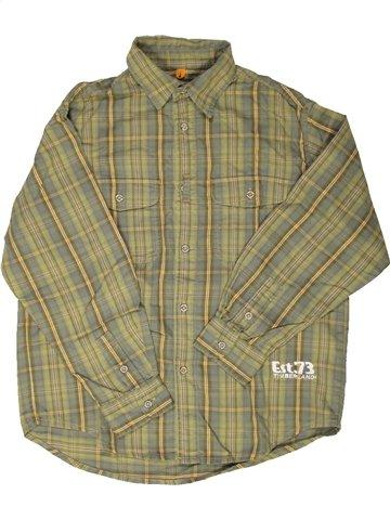 Camisa de manga larga niño TIMBERLAND verde 10 años invierno #778041_1