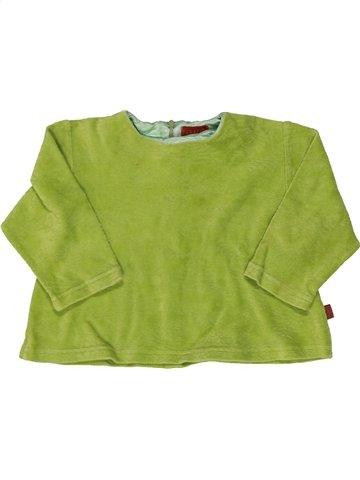 Pull fille KENZO vert 3 ans hiver #838624_1