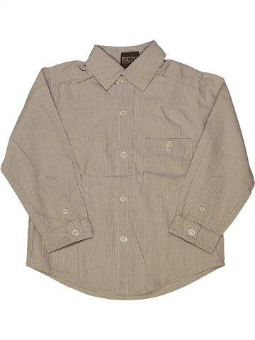 Chemise manches longues garçon YCC-214 gris 2 ans hiver #885025_1