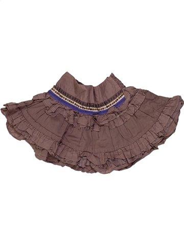 Falda niña LILI GAUFRETTE violeta 2 años verano #897437_1