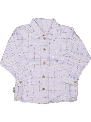 Chemise manches longues garçon MINIMAN gris 2 ans hiver #926973_1