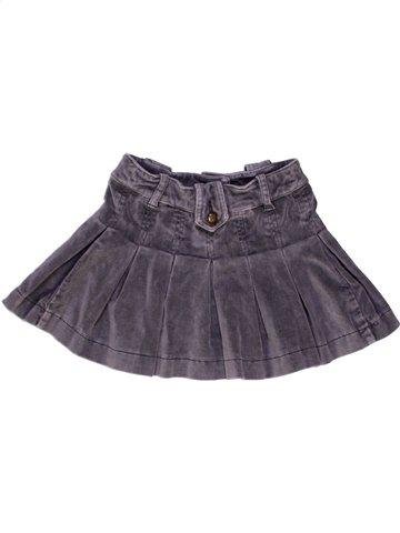 Falda niña LILI GAUFRETTE violeta 2 años invierno #927539_1