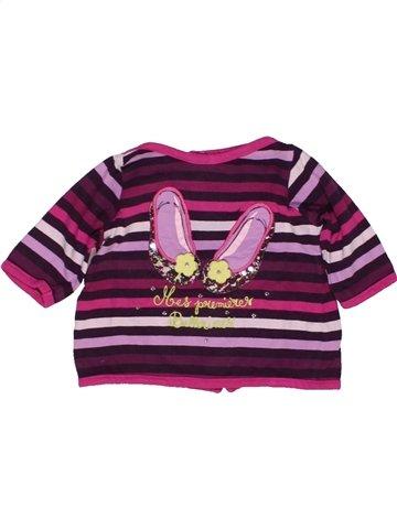 T-shirt manches longues fille SERGENT MAJOR violet 3 mois hiver #946490_1
