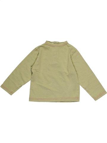 T-shirt manches longues fille 3 POMMES beige 2 ans hiver #992371_1